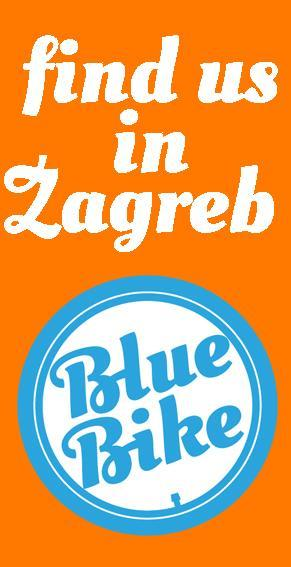 Blue Bike Zagreb tours